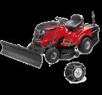 MTD OPTIMA LN 200 H fűnyíró traktor hótolóval és hólánccal