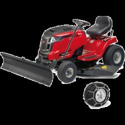 MTD OPTIMA  LG 200 H fűnyíró traktor hótolóval és hólánccal