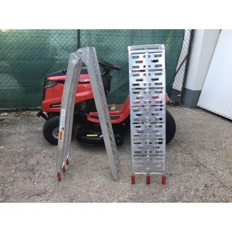 Fölhajtó rámpa fűnyíró traktorhoz összecsukható (1 pár)