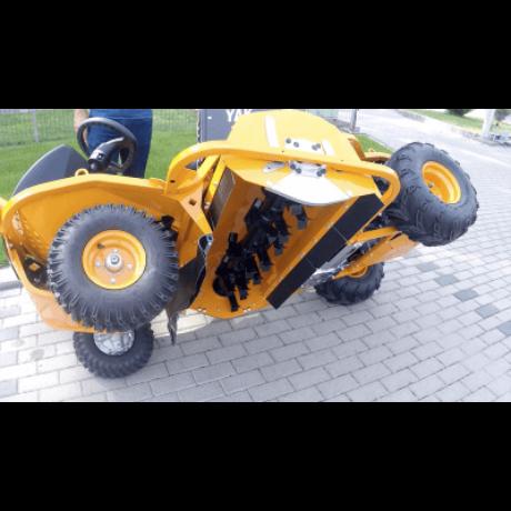 AS-Motor AS 1040 YAK 4WD szárzúzós mindentnyíró