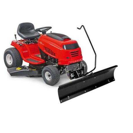 Wolf-Garten E13/96 T oldalkidobós fűnyíró traktor hótolólappal