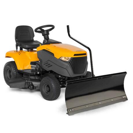 Stiga Tornado 2098 ST 350 fűnyíró traktor hótolólappal