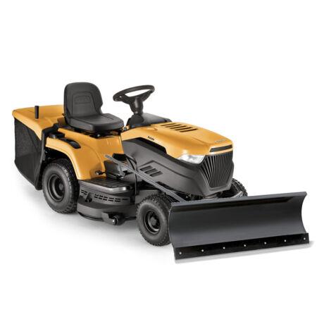 Stiga Estate 2398 HW ST550 fűnyíró traktor-hótolólappal
